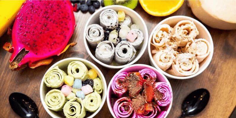 Что такое тайское мороженое