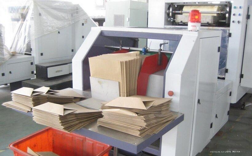 производство бумажных мешков и пакетов