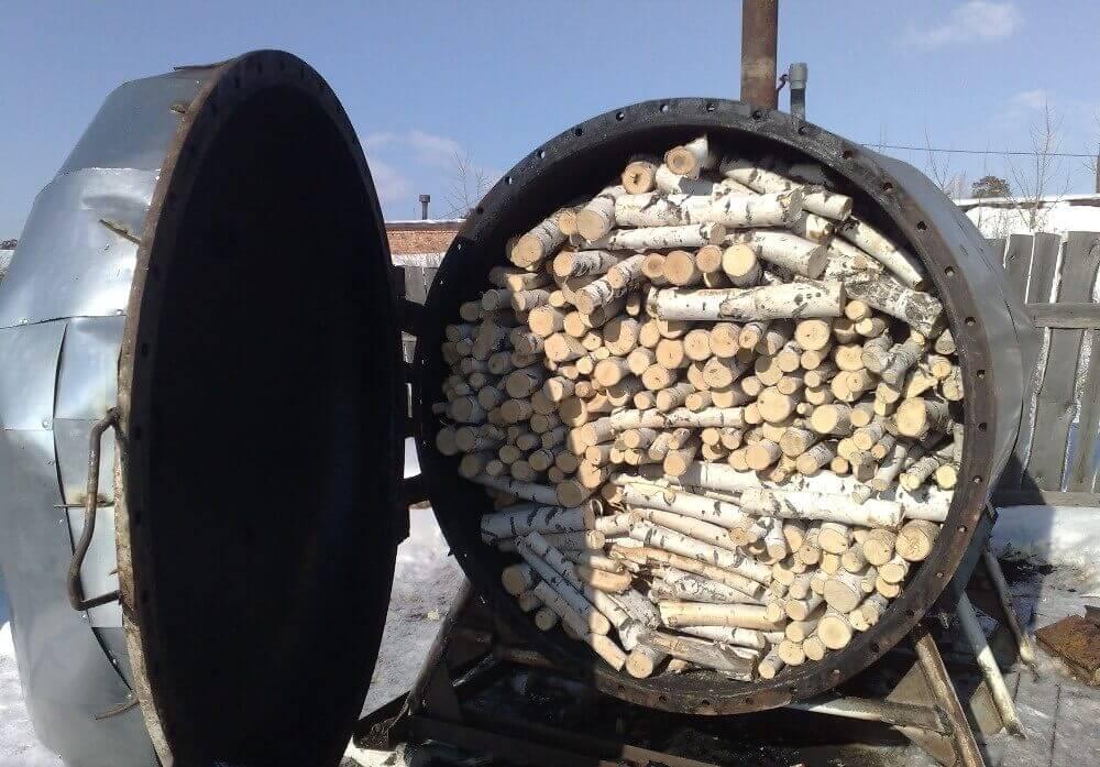 бизнеса на древесном угле