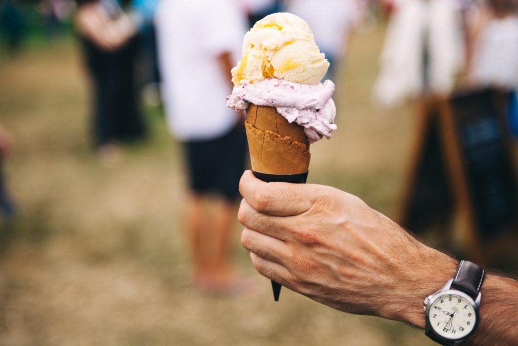 Как рекламировать палатку мягкого мороженого